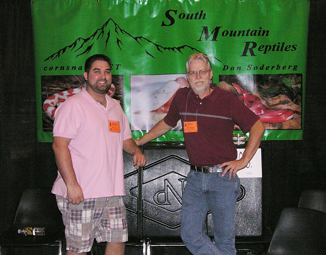 JOHN STOLZ AND DON SODERBERG SOUTH MOUNTAIN HERPS HOUSTON 2010