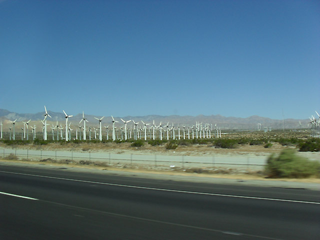 ROAD TRIP TO ANAHEIM WINDFARMS