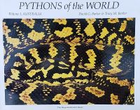 PYTHONS OF THE WORLD VOLUME 1  AUSTRALIA 1994 SOLD OUT